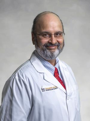 Nitin Karandikar, MD, PhD, professor and chair of the Department of Pathology
