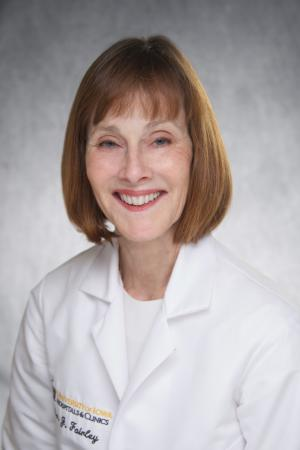 Janet Fairley, MD, FAAD, professor and chair of dermatology