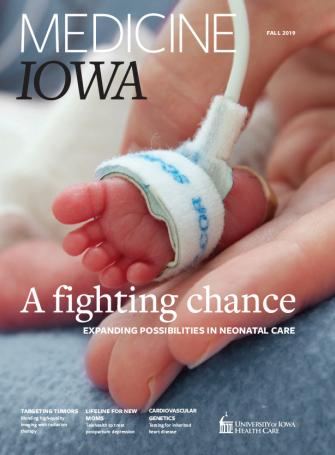 Medicine Iowa Fall 2019 issue cover