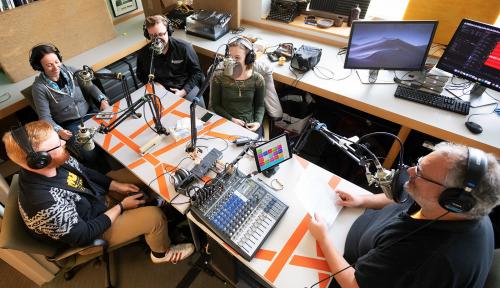 Short coat podcast session